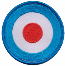 MOD Target Embroidered Badge (a340)